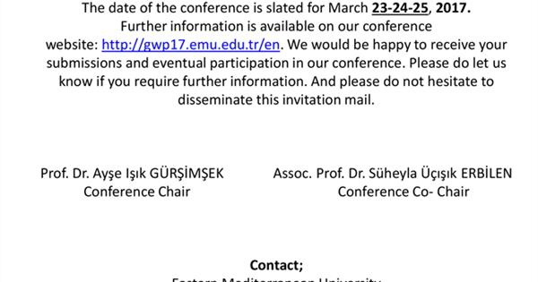The deadline for submitting proposals to the conference is postponed !!!